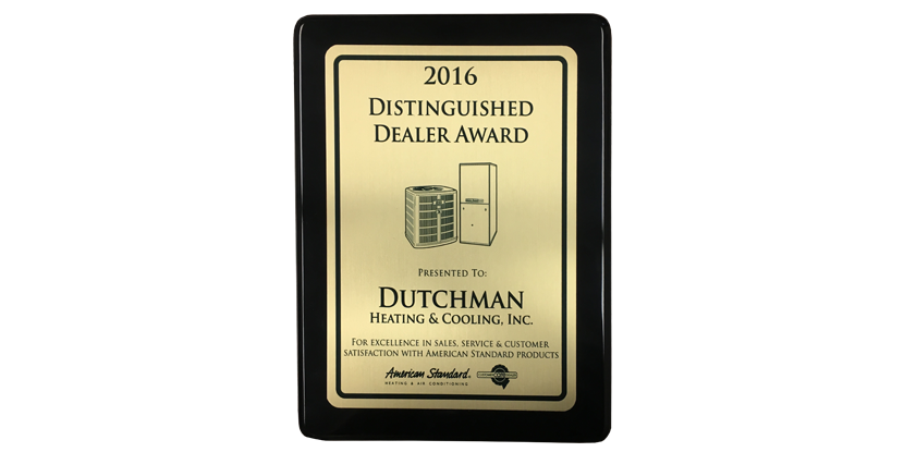 Dutchman Awards American Standard Chicago S Dealer Of The