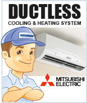 Ductless Cooling and Heating Systems